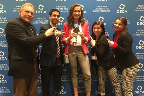 Lindenwood's Collegiate DECA Team Brings Home Gold