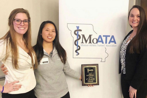 Athletic Training Students Place First in MOATA Quiz Bowl