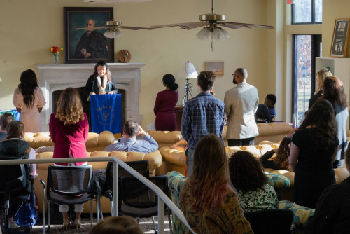 Alpha Chi honors society inducts 48 Lindenwood students