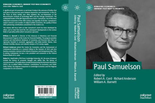 Hammond Institute Fellow Publishes Retrospective on Nobel Prize Winner Samuelson