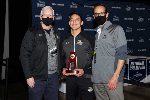 Romero wins NCAA Wrestling National Title