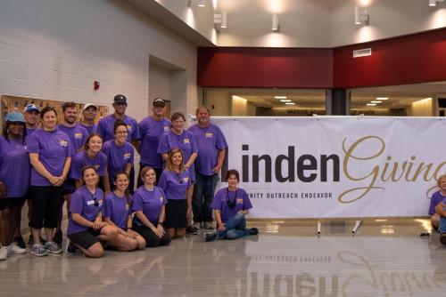 LindenGiving Spruces up St. Charles West High School