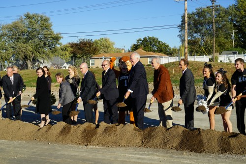 New Post Office Breaks Ground in University Commons Development