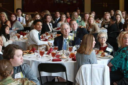 Annual Endowed Scholarship Luncheon Draws Large Crowd