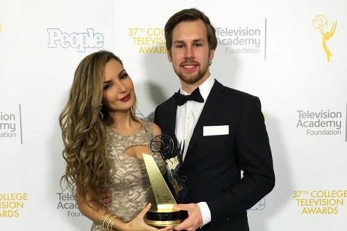Alumnus Damenz Wins College Emmy for Capstone Film