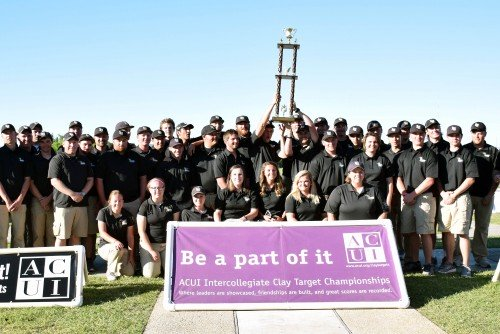 Shooting Team Wins 13th National Championship