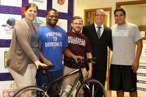 Lindenwood University-Belleville Student Volunteer Gets New Wheels