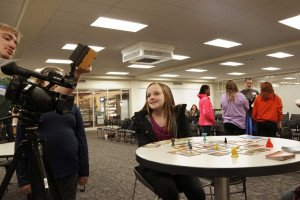 Students Team Up with Girl Scouts to Earn Badges, Make Movie Magic