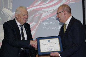 Lindenwood Receives Above and Beyond Award Prior to Veteran Lunch