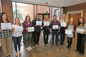 Lindenwood Belleville Inducts New Psi Chi Members