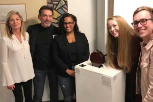Education Dean Scheffler Wins Award of Excellence for Artwork