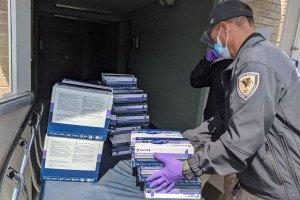 School of Health Sciences Donates Personal Protective Equipment to SSM Health