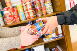 Little Free Pantry Offers Students Support During the Holiday Season