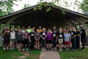 LindenGiving Cleans up St. Charles Park