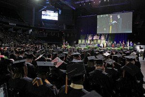 More than 1,350 Participate in Spring Commencement