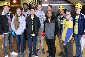 FIRST Robotics Kick-Off Event Held at Scheidegger Center