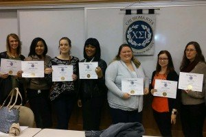 Counseling Honor Students Inducted into Chi Sigma Iota
