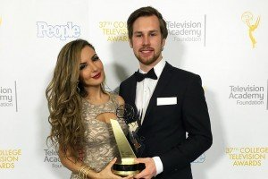 Alumnus Damenz Wins College Emmy for Capstone Film