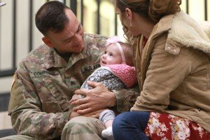 Hyland Arena Plays Host to National Guard 'Welcome Home' Ceremony