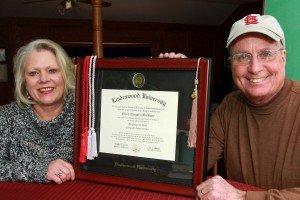 Glenn Markway Honored at December Graduation