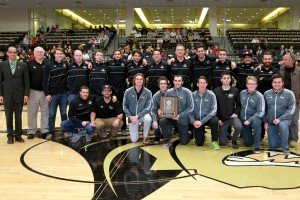 Men's Water Polo Captures Third Straight Title