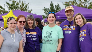 Psychology Department Supports the Walk to End Alzheimer's
