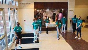 Fashion Students Donate Masks to YWCA