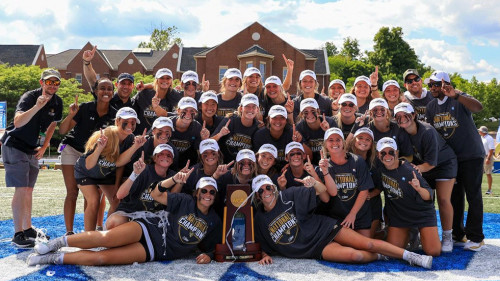 Women's Lacrosse Wins First-Ever National Championship