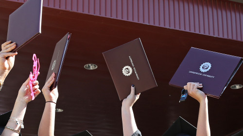 Commencement Ceremony Available On Demand