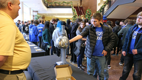 FIRST Robotics Kick-Off Event