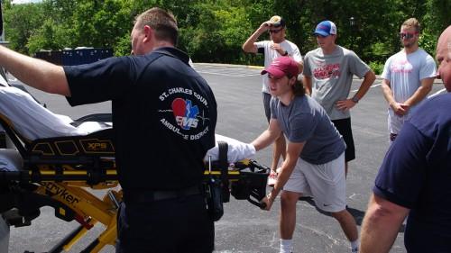 Ambulance Demonstration by St. Charles County Ambulance District