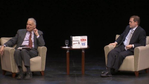 Ralph Nader and Grover Norquist
