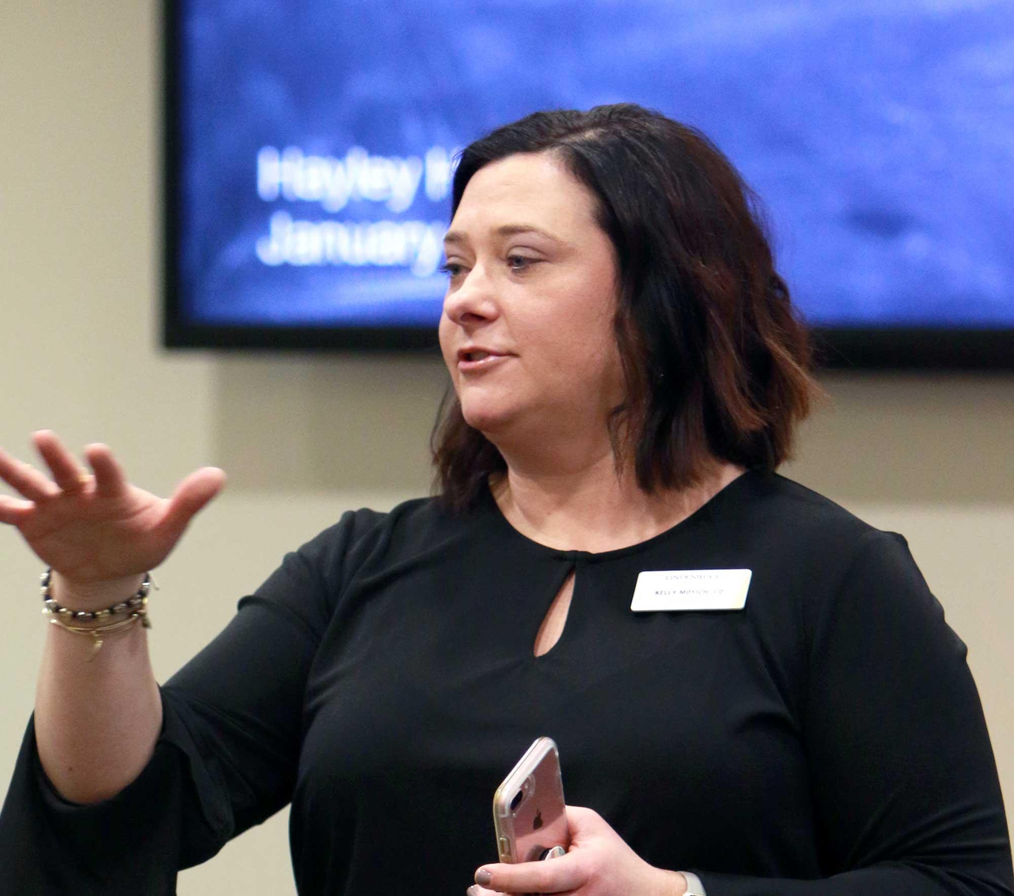 Kelly Moyich, Lindenwood University Title IX coordinator