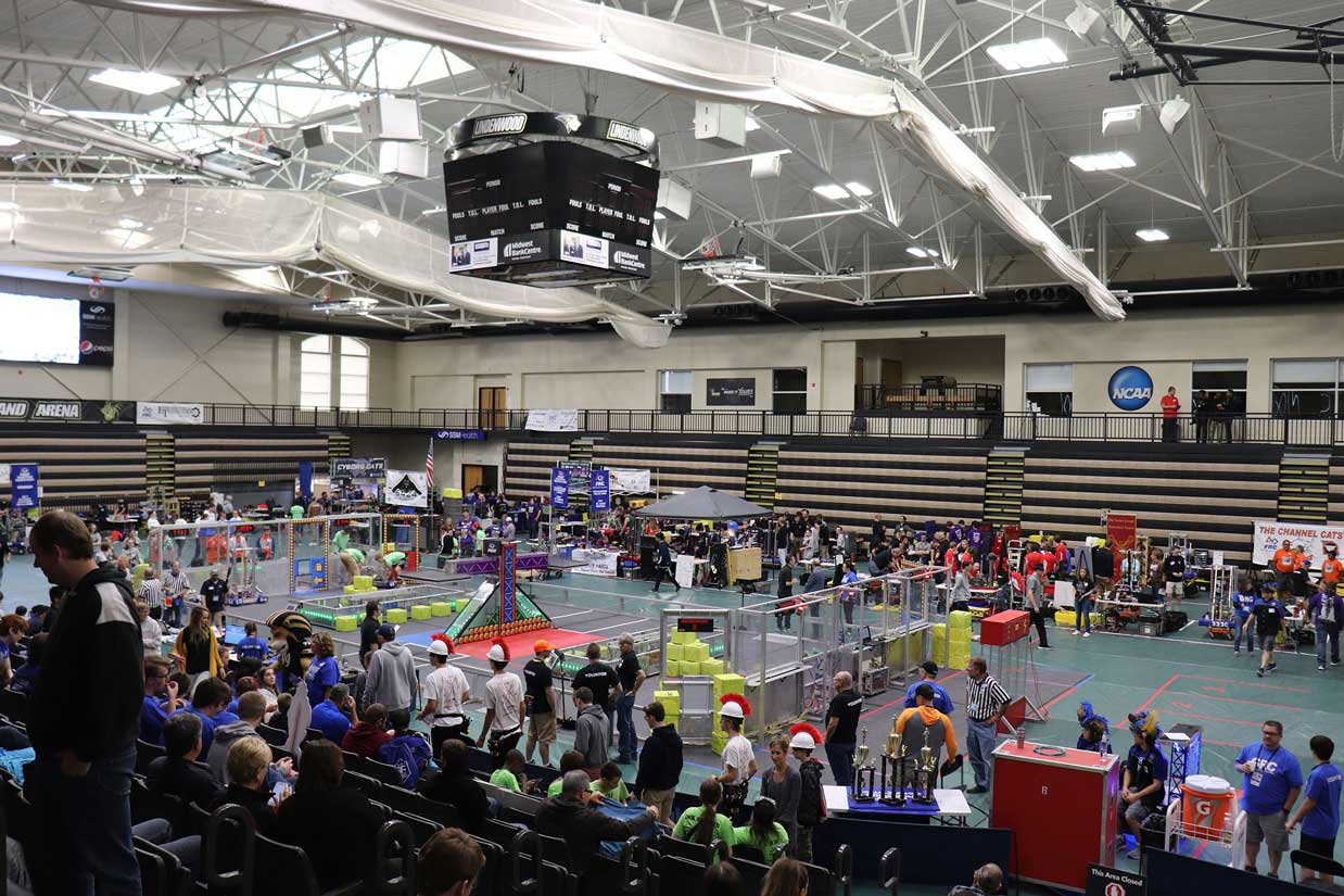 FIRST Robotics at Hyland Arena