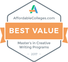 AffordableColleges.com Best Value Master's in Creative Writing Programs