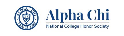 Alpha Chi - National College Honor Society