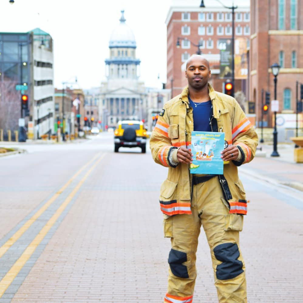 fireman and author Danual Berkley