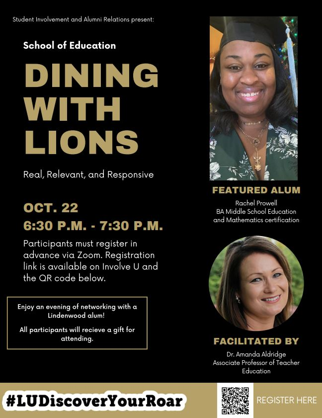 Dining with Lions Flier