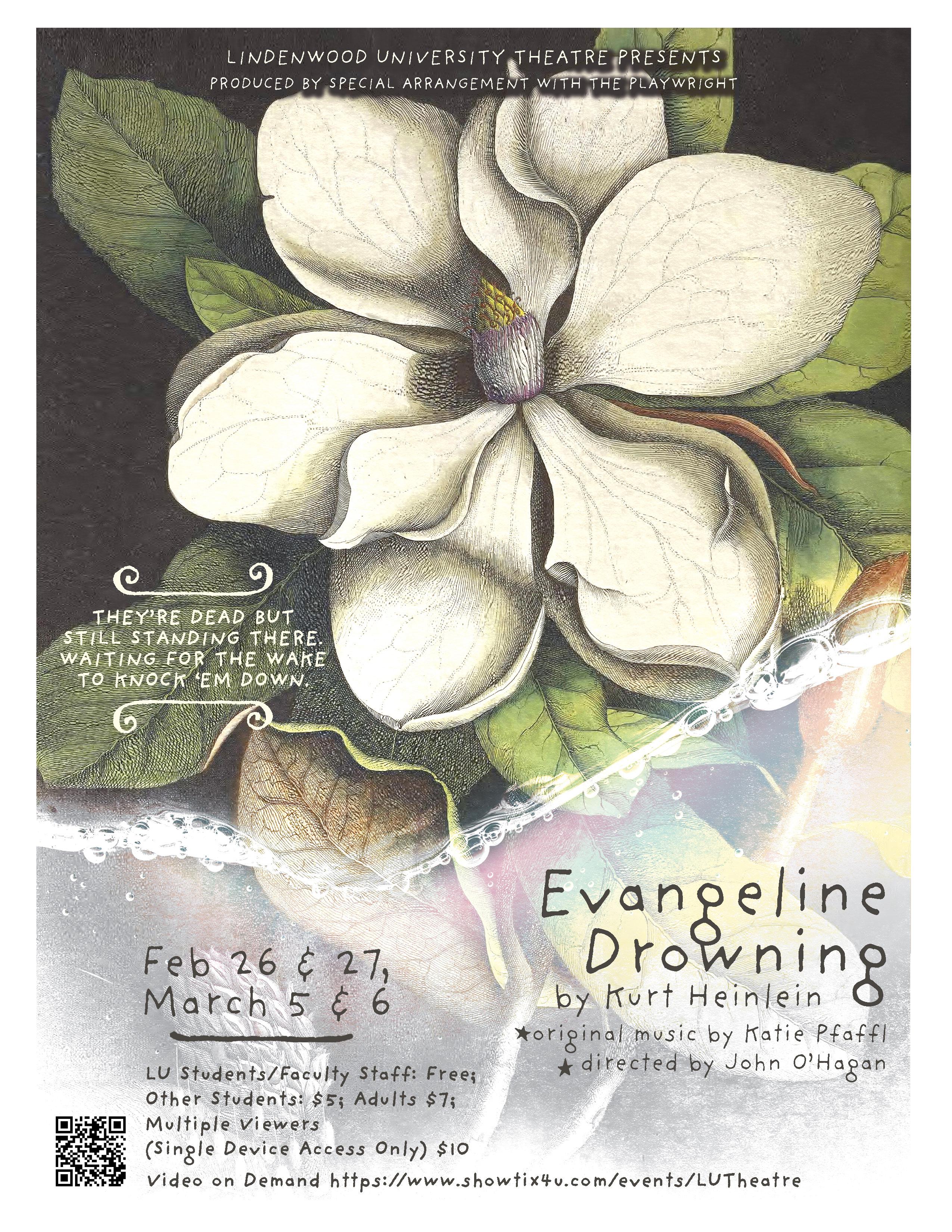 Lindenwood Theatre presents Evangeline Drowning by Kurt Heinlein