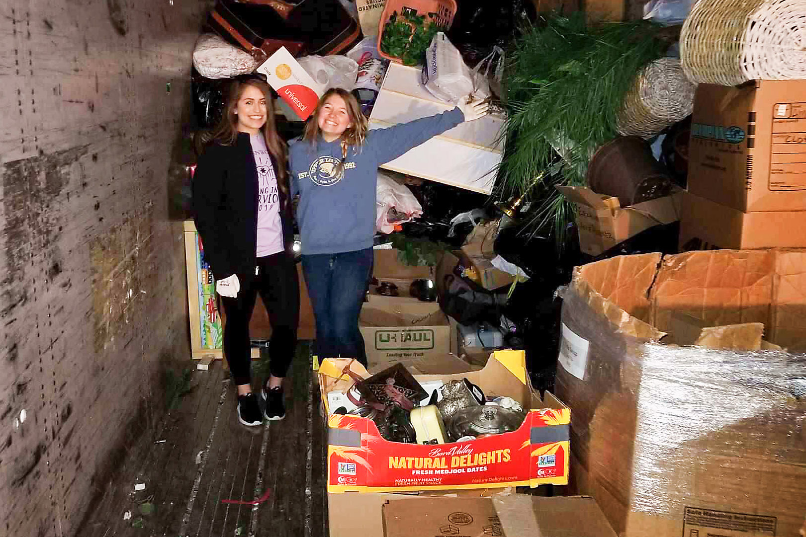 Students volunteer for Spring into Action 2018