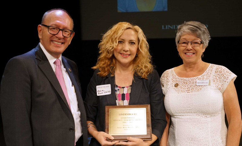 Ross-Weldy Named Adjunct Instructor of the Year