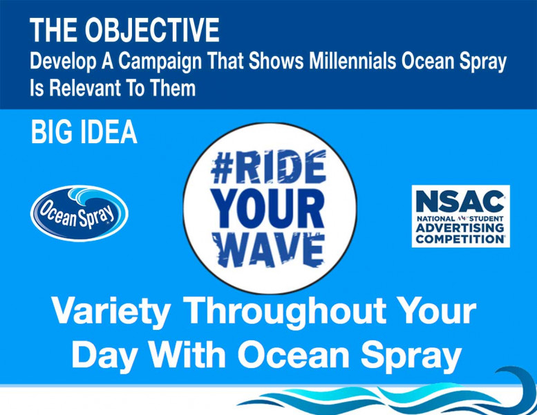 Artwork created for the award-winning campaign for Ocean Spray.