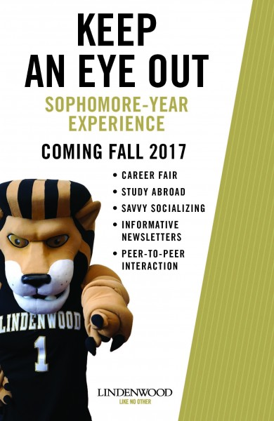 Sophomore Year Experience - Coming Fall 2017