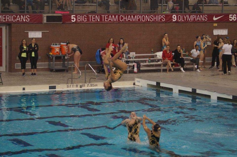 Giving to Lindenwood Synchronized Swimming