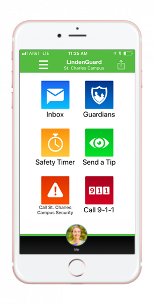 LindenGuard - App Screen Shot