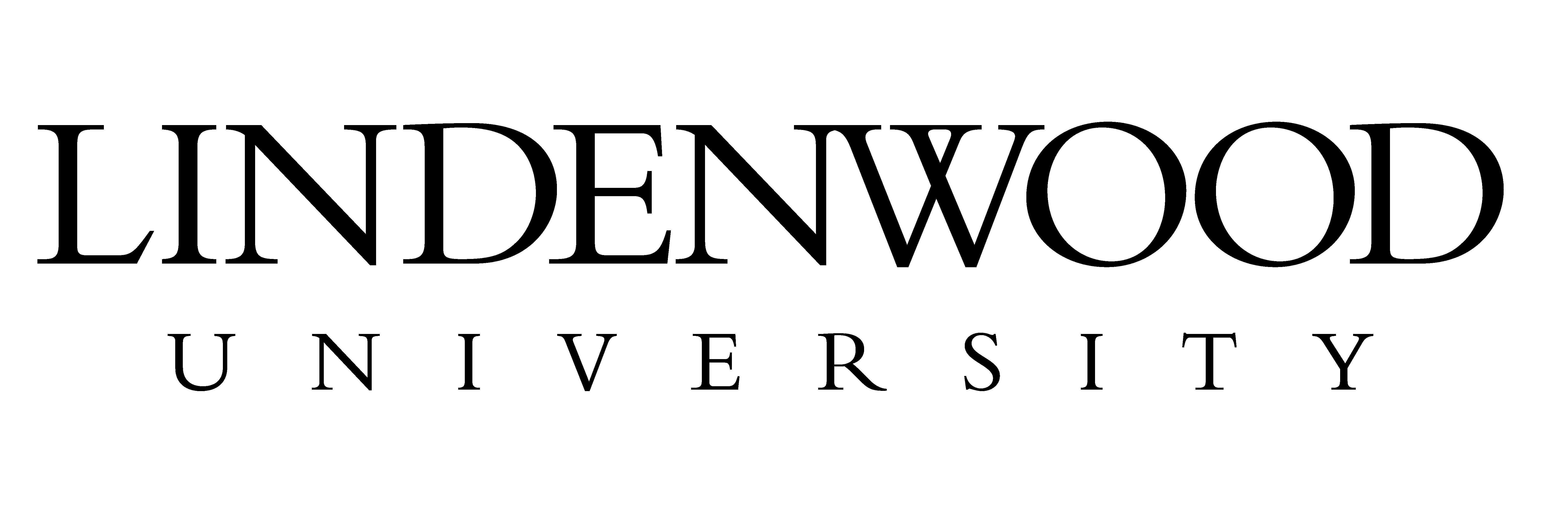 Lindenwood University - Primary Logo - Black