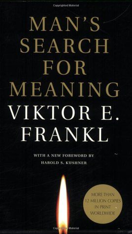 Book cover of Man's Search for Meaning by Viktor E. Frankl