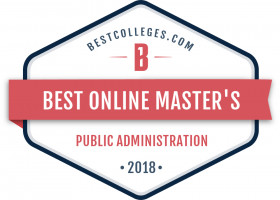 Best Online master's degree in public administration