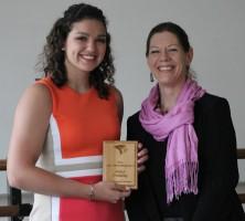 Fields Award Winner Alexa Pressley