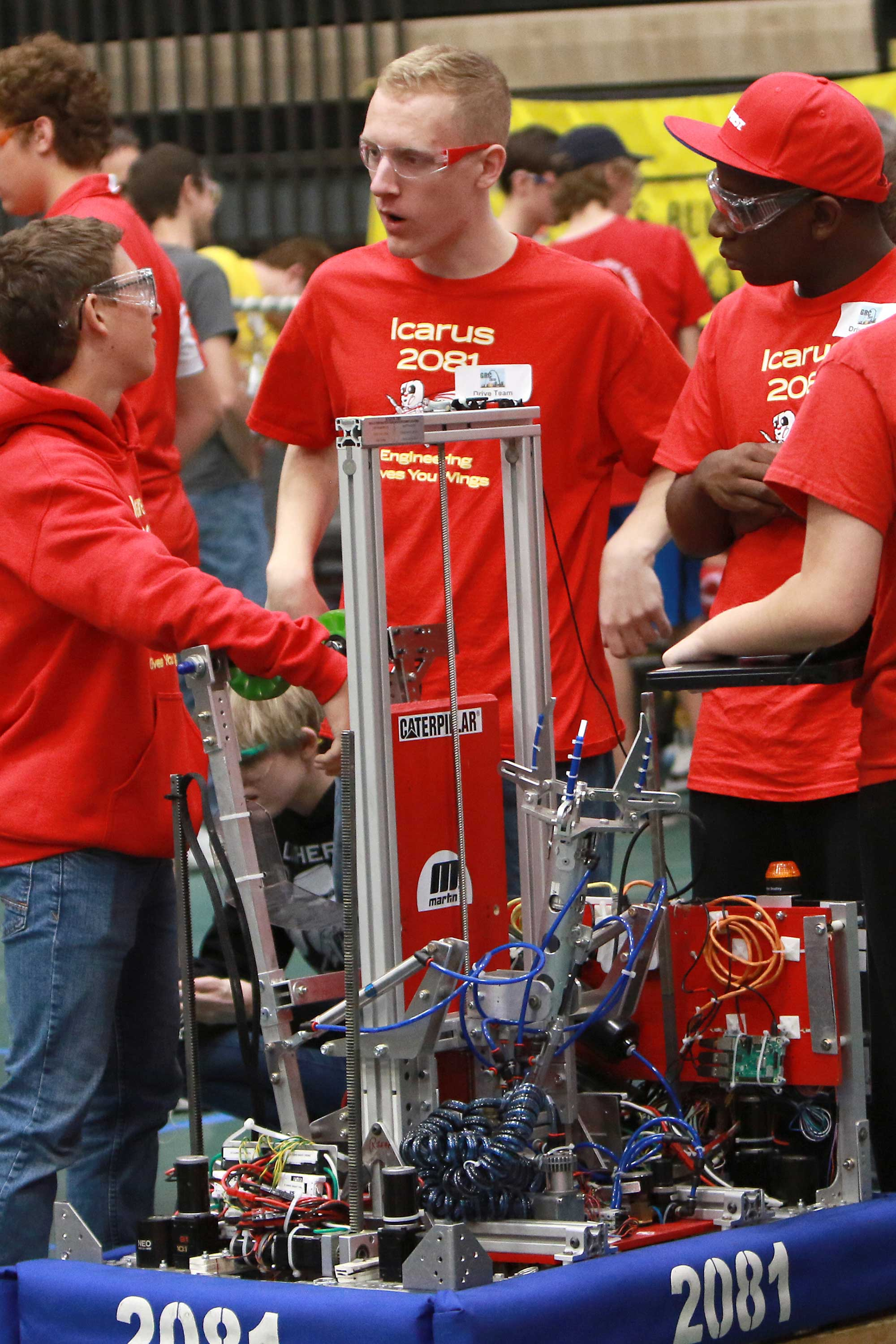robotics challenge students